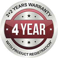 F.E.D. 4 year warranty