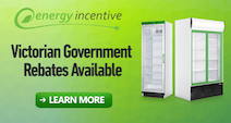 Victoria  Government Rebate Units and Commercial Fridge & Freezer Sales Australia