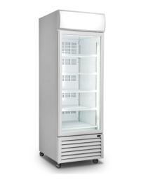 ICCOLD AQGDMF1DW White 1 Glass Door Display Fridge