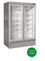 Iarp ASIA 115 2 Glass Door Freezer Bottom Mount