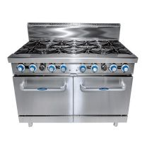 COOKRITE ATO-8B-F-NG 8 Burner Cooktop with Oven