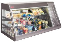 Bighorn Commercial Counter top display fridge with product