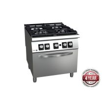 Fagor 900 Series Gas 4 Burner with Gas Oven - C-G941H