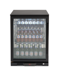 Euro Appliances EA60WFBL Black 1 Glass Door Beverage Cooler