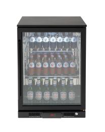 Euro Appliances EA60WFBR Black 1 Glass Door Beverage Cooler
