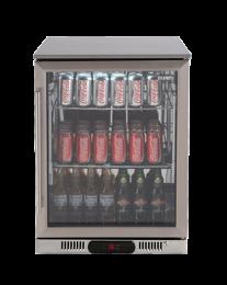Euro Appliances EA60WFSX2R 1 Glass Door Beverage Cooler