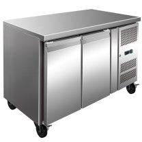 F.E.D FE2100BT S/S Two Door Bench Freezer