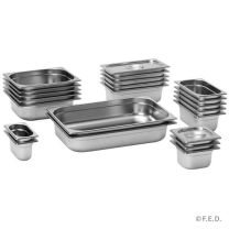 F.E.D GN12150 Stainless Steel 1/2 x 150mm Gastronorm Pan Australian Style