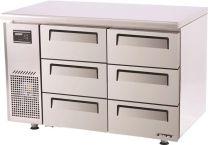 Austune Turbo Air KUF12-3D-6 Drawer freezer