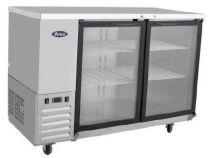 ATOSA MBB48G 2 Glass Door Refrigerated Back Bar Cooler