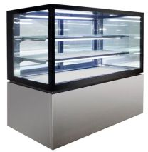 Anvil NDHV3740 Square Glass 3 Tier Hot Display 1200mm