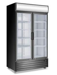 Atosa P1000WB-A 2 Door Display Fridge