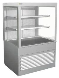 COSSIGA Dimension Square Profile Refrigerated Open Food Display SD4OF9