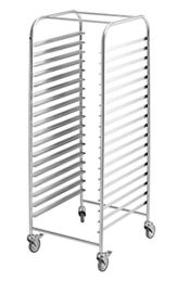 Simply Stainless SS16-2/1- Mobile Gastronorm Rack Trolley