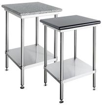 Simply Stainless SS23-1200w- Granite Topped Bench