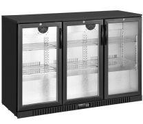 Exquisite UBC330 3 Swing Glass Door Backbar Chiller