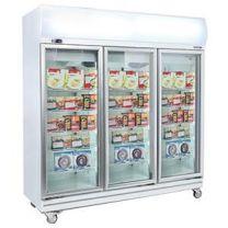Bromic UF1500LF White Freezer w/Lightbox