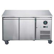 F.E.D-X Series XUB6F13S2V Solid 2 Door Bench Freezer