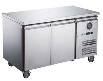 F.E.D-X Series XUB7F13S2V Solid 2 Door Bench Freezer