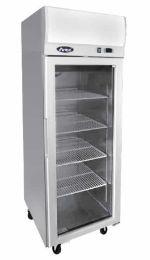 Atosa YCF9407 Compact Glass 1 Door Display Freezer